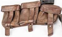 Lot of Leather Holsters and Belts