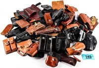 Lot of Various Leather Holsters