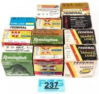 Lot of Vintage and Modern Shotgun Shells