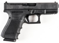 Gun Glock 19 Gen4 MOS Semi Auto Pistol in 9MM