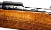 Gun Mauser 98 Bolt Action Rifle in 30-06 SPRG