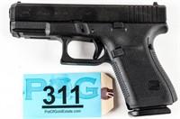 Gun Glock 19 Gen5 Semi Auto Pistol in 9mm NIB