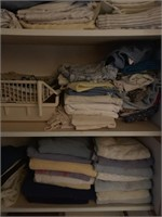 Lot of Linens and Towels