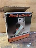 Black and Decker Drill Bit Sharpener