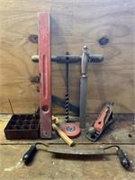 Antique Woodworking Tools-Copper Box