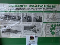 Greenlee PVC Plug Set