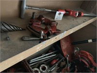 Oil Buckets (3), Tool Cutter, HD Pipe Cutter....