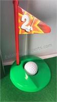 Novelty Golf Potty Putter Set Including