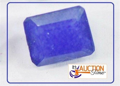 AFRICAN OPAQUE BLUE SAPHIRE 26.46 CARAT 20X15X9MM Other