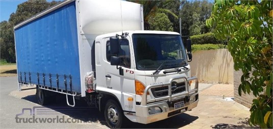 2014 Hino 500 Series 1124 FD - Trucks for Sale