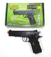 """ASG """"Duty One"""" airsoft gun in box"""