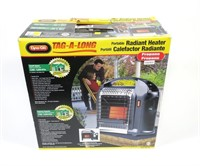 Dyna-Glo Tag-a-long portable radiant heater in box