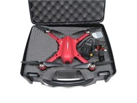 MJX Buggs 3 drone in case and box with accessories
