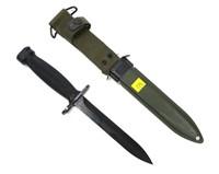 U.S. M4 knife/bayonet with M8A1 scabbard