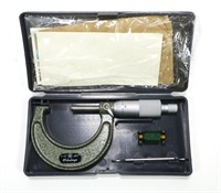 "Mitutoyo 1-2"" .001 micrometer in case"