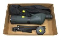 Barska 20-60x60 spotting scope with tripod and