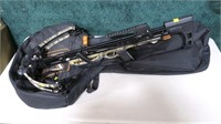 Mission MXB 320 crossbow with case, quiver