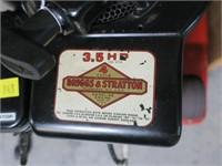 Briggs & Stratton 3.5HP generator