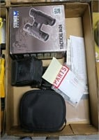Lot, binoculars: Steiner Tactical 8x24; Safari