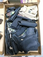 Lot, holsters, pouches