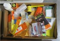 Lot, gun cleaning supplies