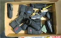 Lot, pocket knives with pouches