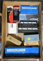 Lot, 10 pocket knives in boxes: Gerber, Cold