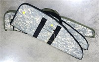 Lot, 3 soft camo gun cases