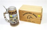 DU 1988 Second Edition beer stein in wooden box