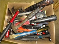 Workshop, tools, and garden equipment auction