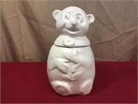 McCoy Pottery Vintage Snowbear Cookie Jar