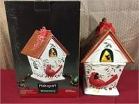 Platzgraff Winterbury Cardinal Cookie Jar