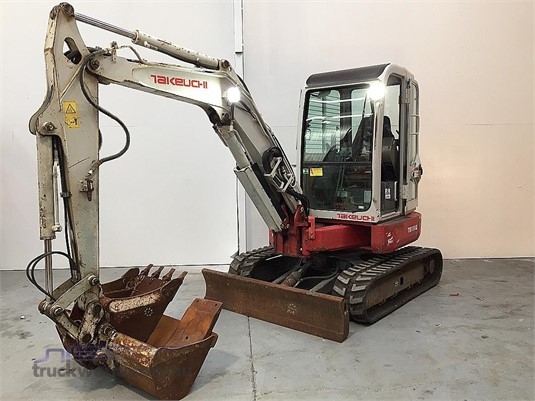 2010 Takeuchi TB138FR - Heavy Machinery for Sale