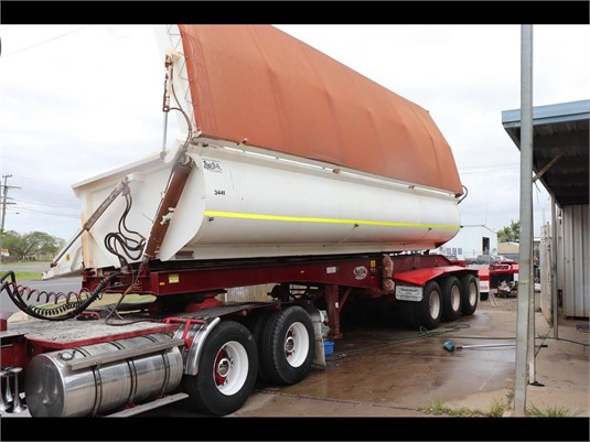 2010 Bruce Rock Side Tipper Trailer - Trailers for Sale