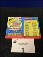 (10) Boxes of 1985 Topps Woolworth Baseball Cards