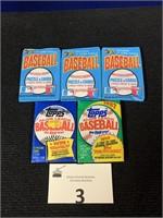 (6) Assortment of Wax Packs
