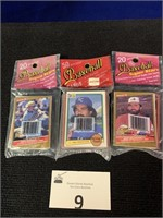 (3) Packs of Sports Cards
