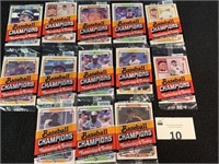 (13) Donruss Baseball Champs Yesterday and Today