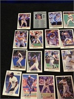 1990 Leaf Baseball Cards and 1993 McDonald Cards