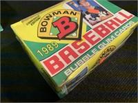 (2) 1989 Bowman 36 Wax Packs