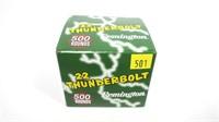 Box of Remington 22 Thunderbolt .22 LR