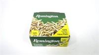 Box of Remington .22 LR hollow point cartridges,