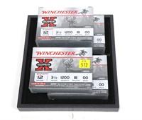 """4- Boxes of Winchester SuperX 12 Ga. 3.5"""""""