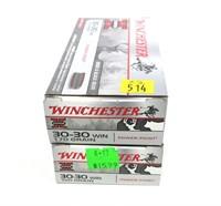 2- Boxes of Winchester SuperX .30-30 WIN 170-grain