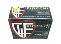 Box of Fiocchi .223 REM 55-grain FMJ BT