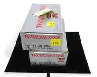Lot, 97 rounds of Winchester SuperX .44-40 WIN
