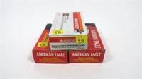 3- Boxes of 9mm Luger 115-grain cartridges