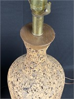 Pair of Cork Lamps