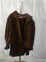 Woman's Brown Wool Coat