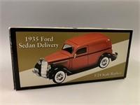 1935 Ford Sedan Delivery 1:24 Scale Replica